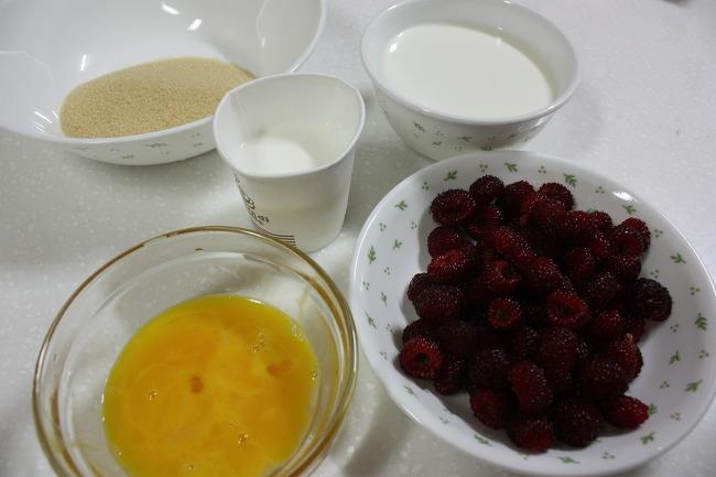 홈메이드 산딸기 아이스크림